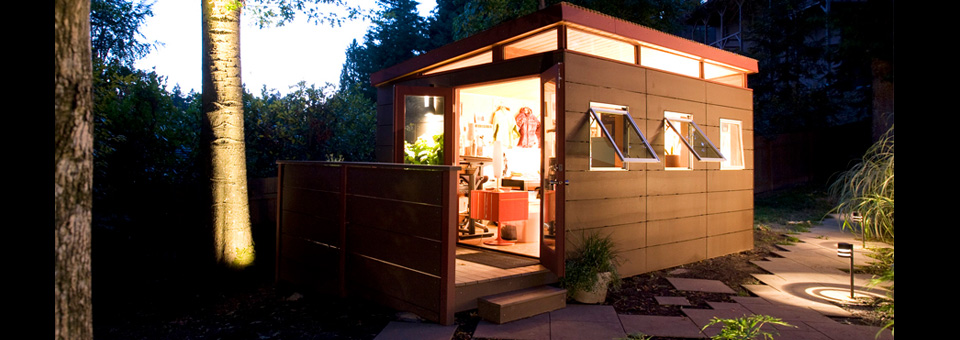 Home Office San Diego CA | Modern Shed Home Office Solutions